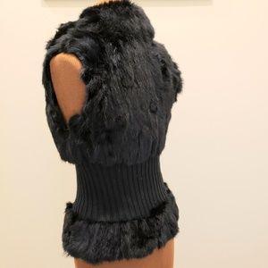 Guess Jackets & Coats - GUESS JEANS Faux Fur Vest